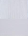 "elegie x 2009 acrylic on linen (81⁄2"" x 11"")"